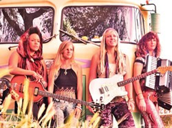 PHOTO COURTESY OF THE ARTIST - WHO: Rainbow Girls, WHEN: Thursday, April 30 at 9 p.m., WHERE: Siren's Song Tavern, TICKETS: Free