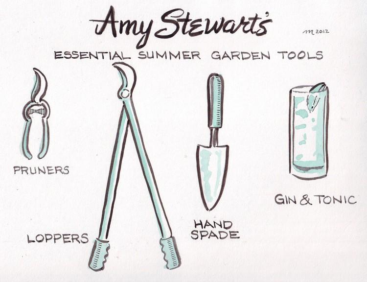 With Apologies To Amy Stewart - JOEL MIELKE