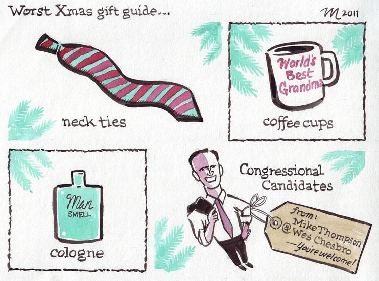 Worst Xmas Gift Guide - JOEL MIELKE