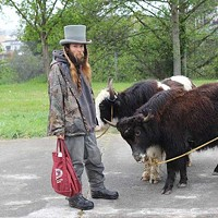 Yak Man with top hat