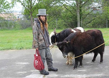 The Yak Men and Their Yaks