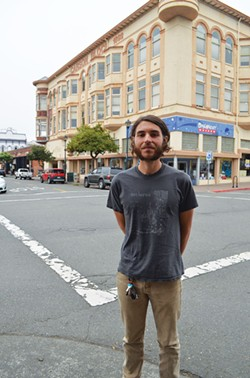 """Zack Thiesen, 29, works at Los Bagels and says the Fair Wage Act, which calls for yearly raises based on costs of living, is a """"humane baseline."""""""