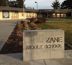 PHOTO BY HEIDI WALTERS - Zane Middle School