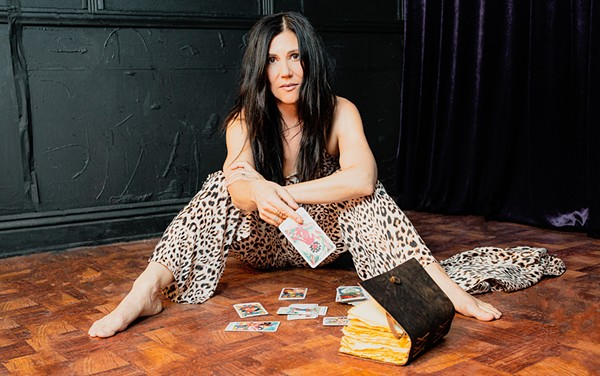 HEAR HER ROAR LA-based singer-songwriter Pi Jacobs brings her bluesy rock songs to Morro Bay's Libertine Brewing on July 17. - PHOTO COURTESY OF PI JACOBS