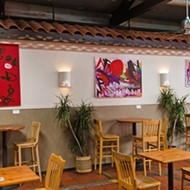Differently abled artist Noah Erenberg displays new paintings at Big Sky Café through August