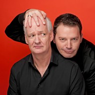 Scared Scriptless tour brings comedy legends Colin Mochrie and Brad Sherwood to the Central Coast