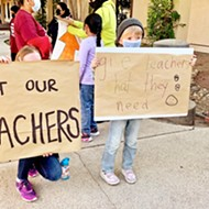 Paso Unified teachers rally for higher pay as district, union go back and forth on salary negotiations