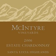 McIntyre Vineyards 2006 Chardonnay Santa Lucia Highlands