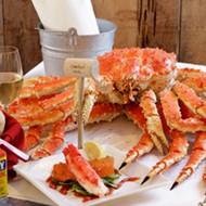Sweet, succulent crab