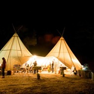Get your camp on: Under Canvas Events has a tent for every occasion