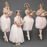 Pas de dudes: Acclaimed transvestite ballet troupe Les Ballets Trockadero return to the PAC