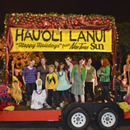 New Times gets their groove on at the SLO Holiday Parade