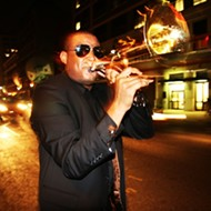 NOLA icon Glen David Andrews plays at Live Oak