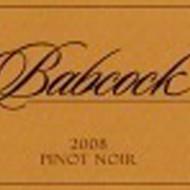 Babcock 2008 Pinot Noir Rita's Earth Cuvee
