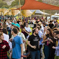 A large and boisterous crowd enjoyed the 3rd Annual Central Coast Oyster and Music Festival in Avila Beach