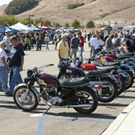 Rev your engines! The Sixth Annual Central Coast Classic Motorcycle Show rides into town on Oct. 11!