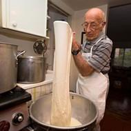 His heart bleeds milk: Lou Tedone, 91, makes mozzarella 365 days a year