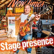A musical barn raising: SLO Tracks founder Vincent Bernardy handcrafts a stage for all ages