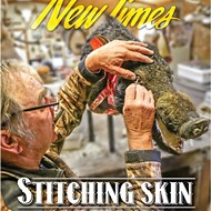 Stitching skin: A SLO County taxidermist brings the dead to life