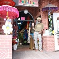 Visit faraway places on Higuera St.