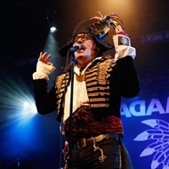 Wonderfully weird: British pop icon Adam Ant comes to SLO Brew