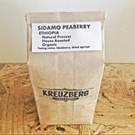 Kreuzberg's house roasted coffee and Sextant Winery's 2013 Pinot Gris