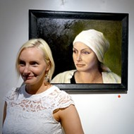 David Settino Scott's 'Women' exhibition draws a large crowd on July 3 at Steynberg Gallery