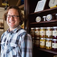 The man with the can: Stormy T's pickled delicacies are worth flipping your lid for