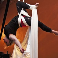 Flying on silk: Dancers defy gravity at Suspended Motion Aerial Arts Academy