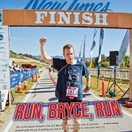 Run to the hills: Bryce Wilson tackles the SLO Marathon