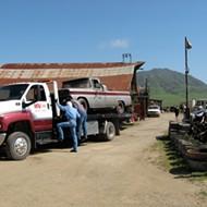 The tow trucks cometh