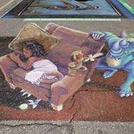 SLO's famous street painting festival debuts new name, Via dei Colori