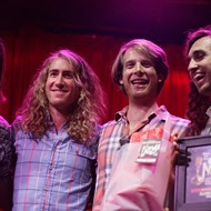 Proxima Parada wins Best Live Performance at the Sixth Annual New Times Music Awards!