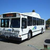 Hybrid buses broke