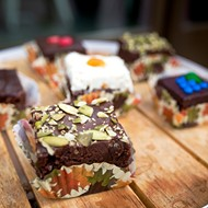 Extra 'special' brownies: Heaven Squared is baking up chocolaty treats spiked with beer, wine, and sumptuous spices