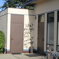 Vandals strike two local churches