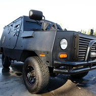 Diablo infiltrators would face two anti-terrorism vehicles
