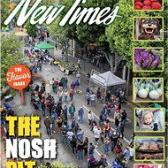 The nosh pit: What happens when humans, vegetables, and entertainment collide at SLO Farmers' Market