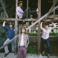 Moonshiner Collective plays an album release party on April 22 at Fremont Theater