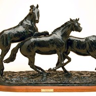 Central Coast artist Pat Robert captures beauty of horses through sculpture