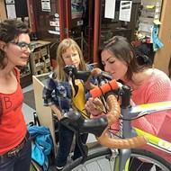 Bike SLO County serves up Women's Night at the Bike Kitchen