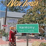 Breathing new life into the past: The rebuilding of the tiny town of Harmony