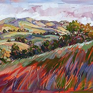 Passing through: Artist Erin Hanson paints dreamy, impressionistic Paso landscapes