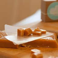 OGG caramel cred: Sugar + Spoon caramels made just like great-granny did (minus the butter churning)