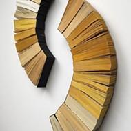 Third life: Trees turned books turned art on display at SLOMA