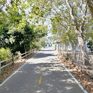 The new leg of the Bob Jones Trail is an easy and relaxing ride