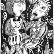 Clearly defined: Paso artist Betty Wick creates in black and white