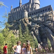 Just like magic: Fly off on that broom to LA and visit Hogwarts