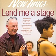 Lend me a stage: PCPA's Brad Carroll directs the play he co-wrote and premiered in London's West End, 'Lend Me a Tenor the Musical,' for its Central Coast debut