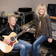 Fleetwood Mac members Lindsey Buckingham and Christine McVie play Vina Robles Amphitheatre on Oct. 15